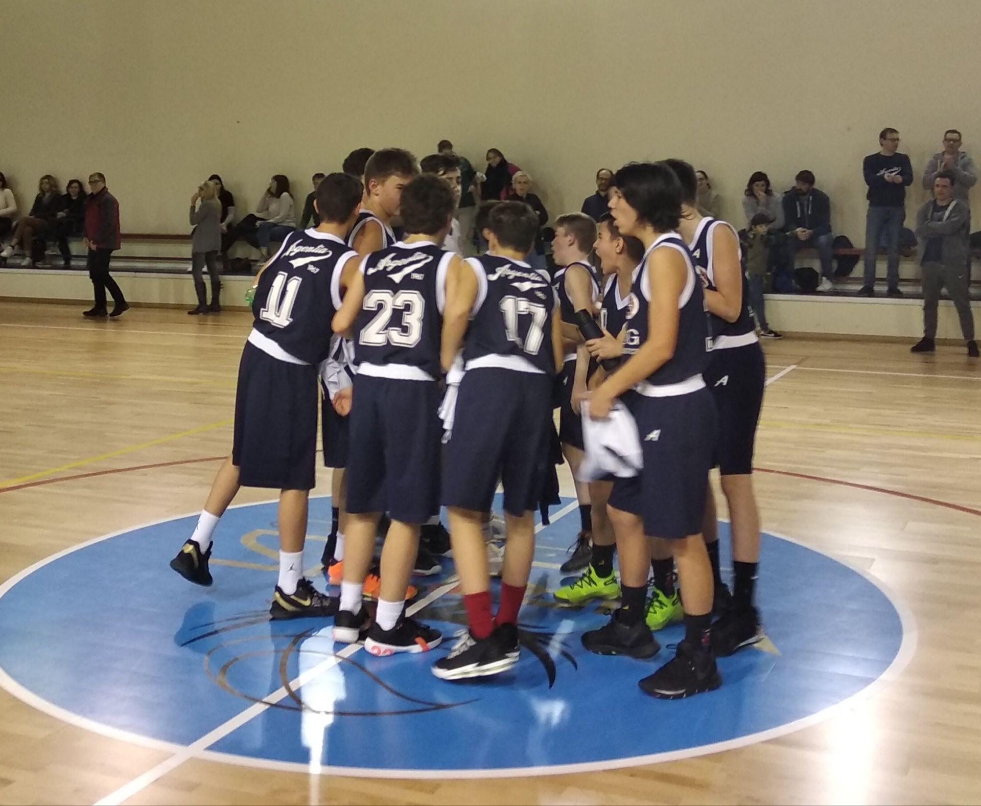 Campionato U14 TOP  – Virtus Desenzano vs Argentia Bianchi (75 – 76)